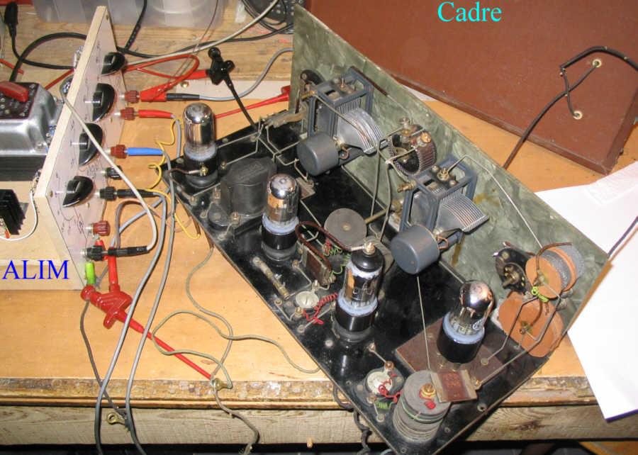 Recepteur portatif 4 lampes sans marque - Premiers essais PG_DC17