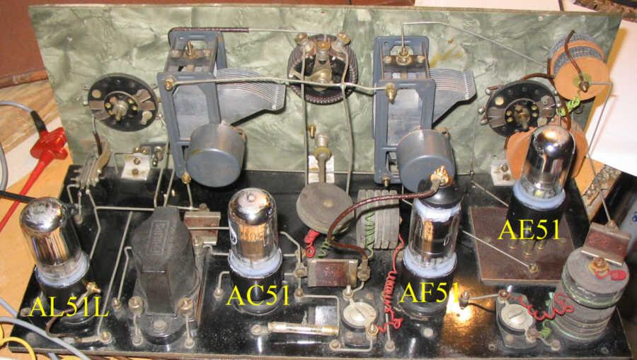 Recepteur portatif 4 lampes sans marque - Premiers essais PG_DC18