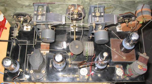Recepteur portatif 4 lampes sans marque - Premiers essais PG_DC19