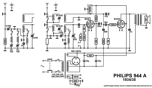 poste philips type 944a
